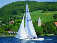 Segelboot auf dem Diemelsee (Tourist-Information Diemelsee)