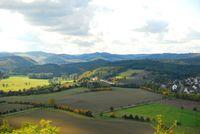 Blick ins Diemeltal bei Obermarsberg, Achim Lückemeyer - pixelio