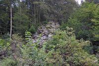 Schieferfels im Naturschutzgebiet Grebensteine (Winfried Becker)